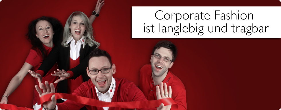 Corporate Fashion ist langlebig und tragbar